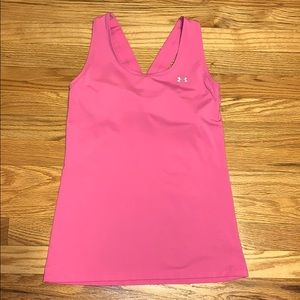 ACTIVEWEAR: Pink Under Armour Tank Top